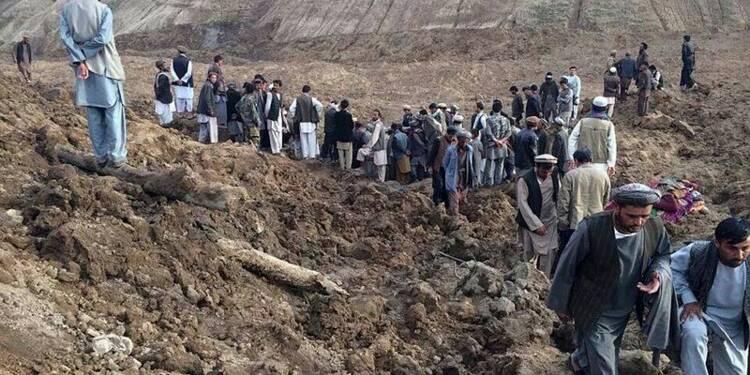 Plus de 2.000 personnes ensevelies en Afghanistan