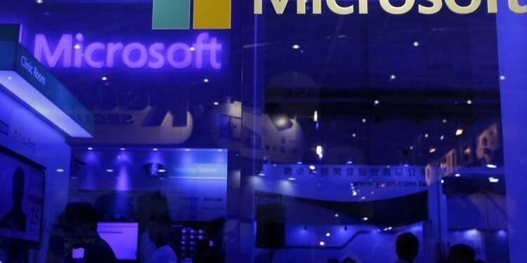 Plainte contre Microsoft un an après l'amende record de l'UE