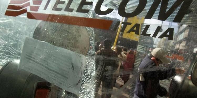 Telecom Italia atteint son objectif de dette