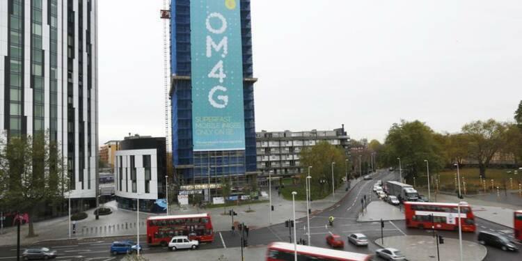 Les adjudications 4G rapporteront moins que prévu à Londres