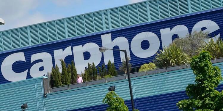 Fusion des britanniques Dixons Retail et Carphone Warehouse