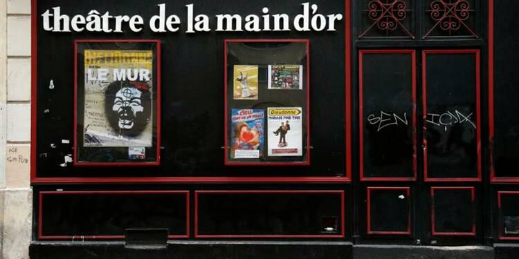 Perquisitions au théâtre parisien et au domicile de Dieudonné
