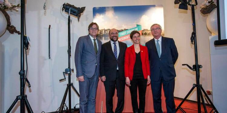 Débat entre candidats à la présidence de la Commission européenne