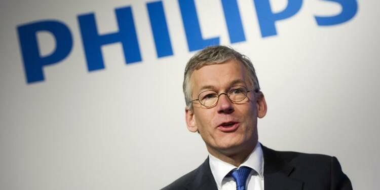 2e trimestre meilleur qu'attendu pour Philips