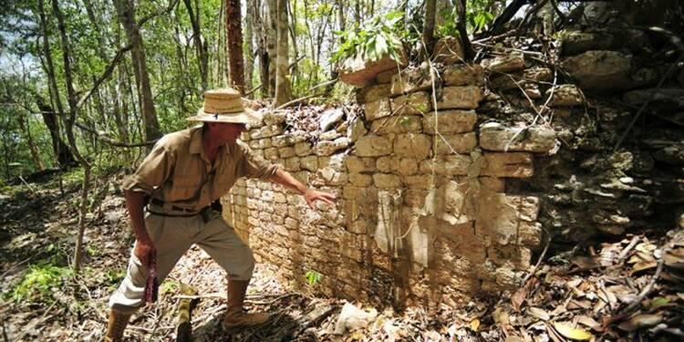 Une cité maya oubliée découverte dans la jungle mexicaine