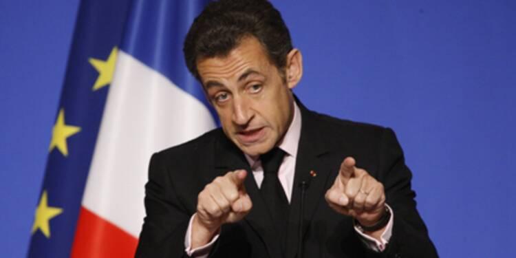Sarkozy annonce des mesures pour encadrer les bonus des traders