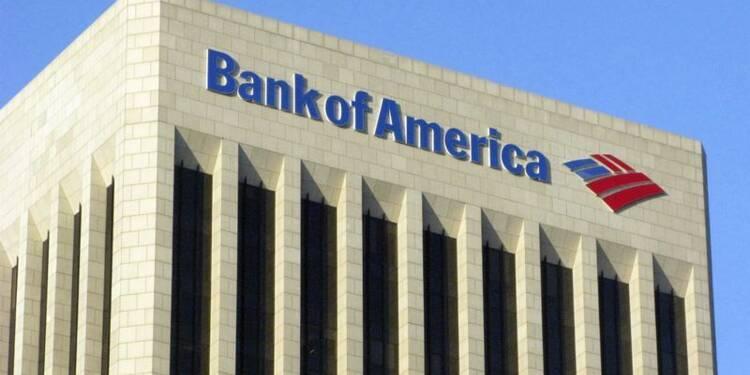 Le bénéfice trimestriel de Bank of America  meilleur que prévu