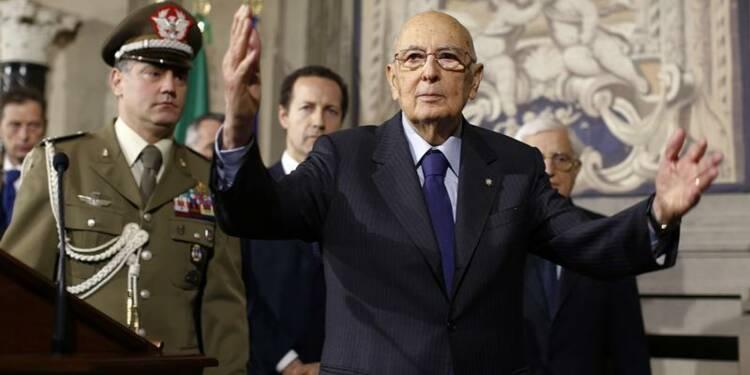 Giorgio Napolitano convoquera Matteo Renzi lundi matin