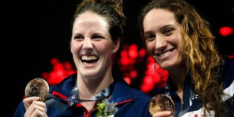 Natation: Franklin sacrée sur 200m nage libre, Muffat en bronze
