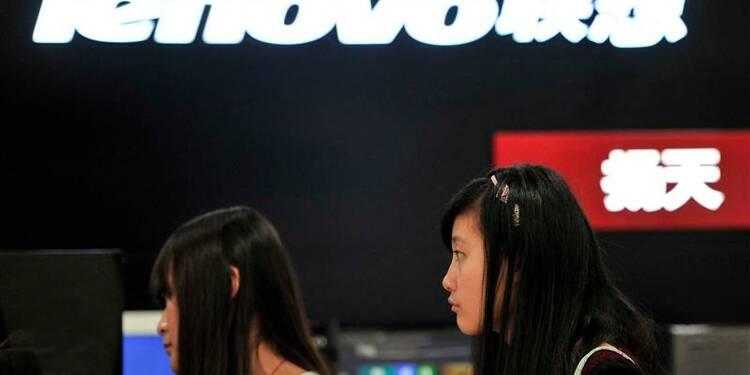Motorola et serveurs d'IBM pèseront sur les résultats de Lenovo