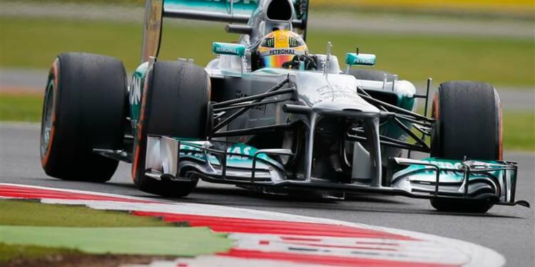 F1: Lewis Hamilton décroche la pole position à domicile