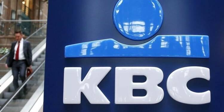 KBC présente un bénéfice net supérieur aux attentes