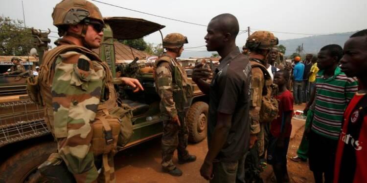 L'adhésion des Français à l'opération Sangaris est quasi stable
