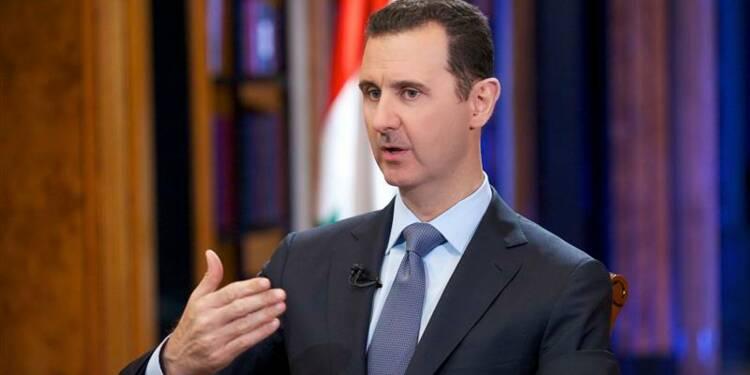 Détruire les armes chimiques prendra un an, dit Bachar al Assad