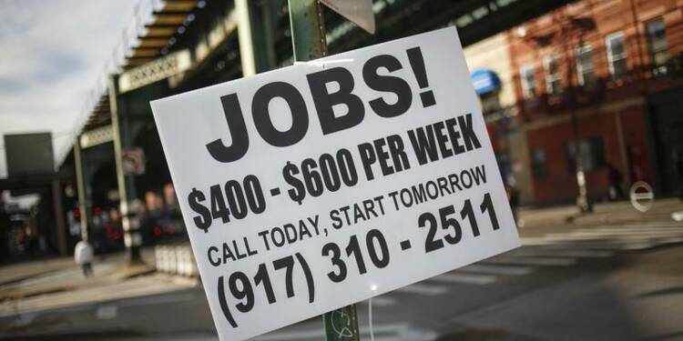 Les créations d'emploi au plus bas depuis 3 ans aux Etats-Unis