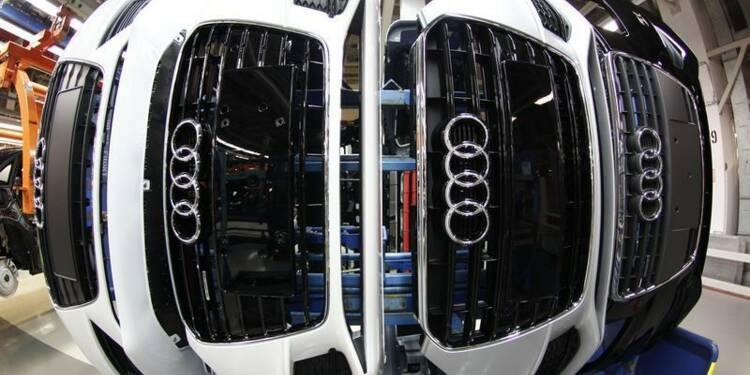 Recul de 8% du bénéfice d'exploitation d'Audi au 1er semestre