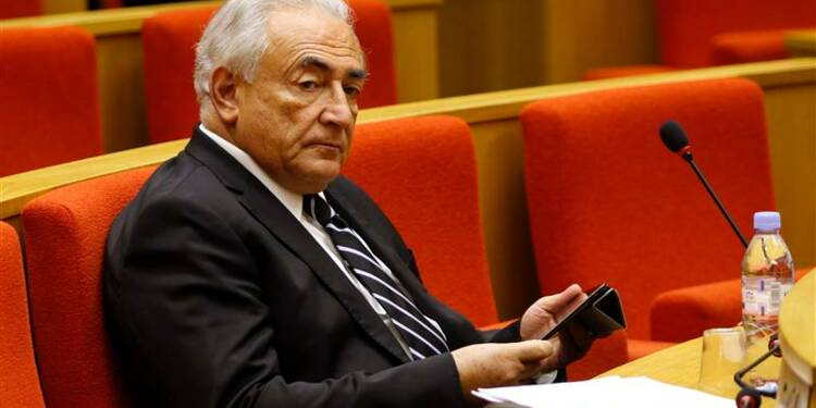 Dominique Strauss-Kahn défend la finance devant le Sénat