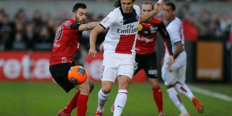 Ligue 1: un PSG sans inspiration arrache le nul à Guingamp