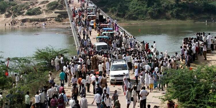 Des dizaines de morts dans une bousculade en Inde