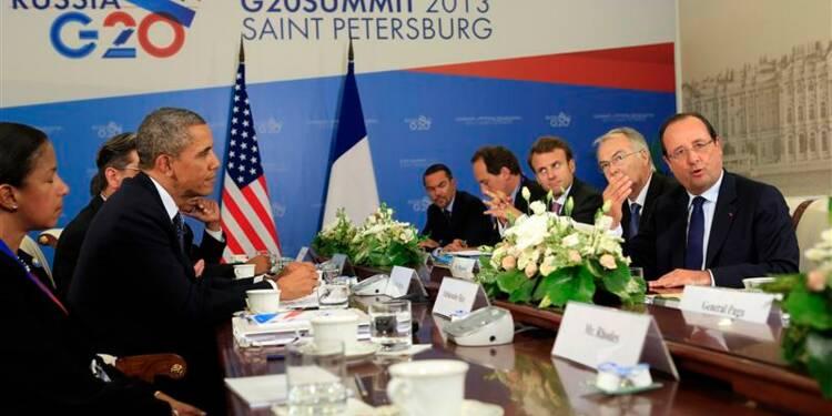 Obama plaide auprès du G20 en faveur d'une action en Syrie