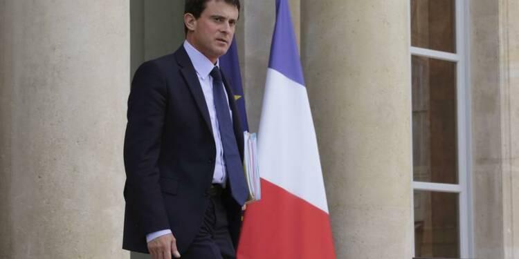 Manuel Valls en baisse après l'affaire Dieudonné