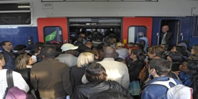 Les salariés franciliens  passeraient plus de 2 ans de leur vie dans le métro