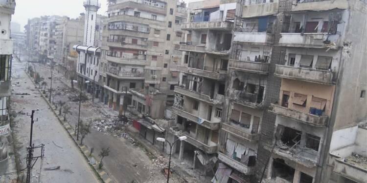L'armée syrienne reprend un quartier de Homs