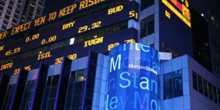 Morgan Stanley a déjà perdu plus de 4 milliards de dollars en neuf mois