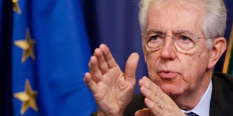 Le budget 2013 voté en Italie, Monti s'apprête à démissionner