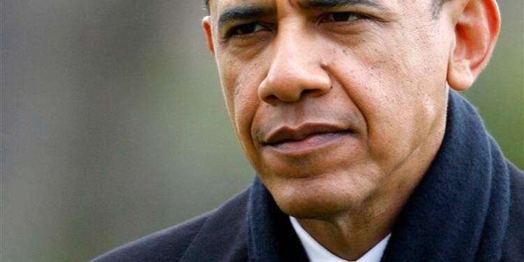 """Fin de la réunion avec Barack Obama sur le """"mur budgétaire"""""""