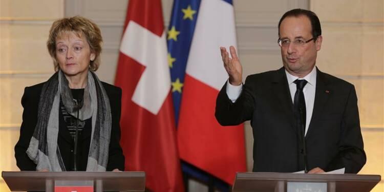 Pas d'amnistie fiscale avec la Suisse, prévient Hollande