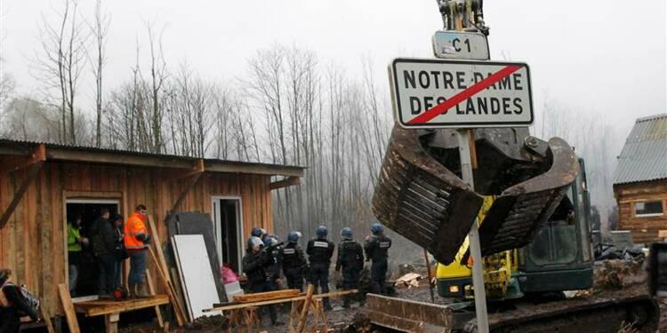 Nouvelle intervention policière à Notre-Dame-des-Landes