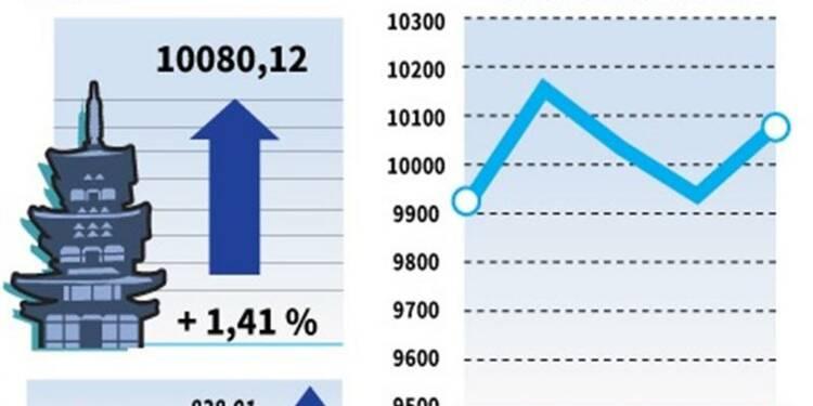 La Bourse de Tokyo finit en hausse de 1,41%