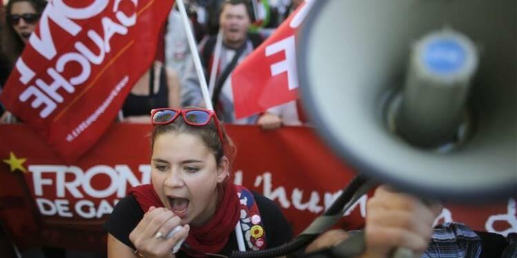 Le Front de gauche veut imposer une majorité alternative