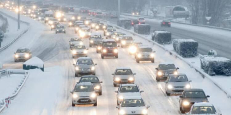 Transports perturbés par le neige dans la moitié de la France