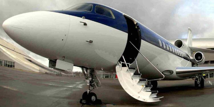 Le jet privé, un jouet qui fait rêver les P-DG