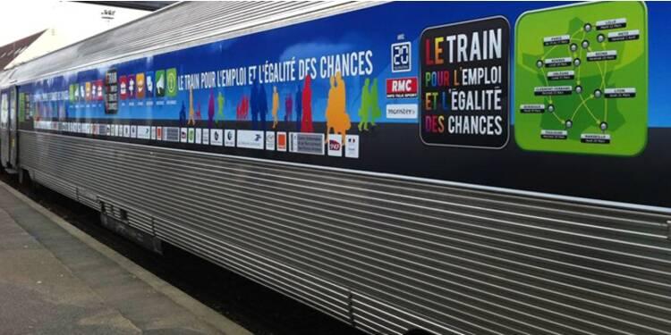 Plus de 25.000 postes à pourvoir à bord du Train pour l'Emploi