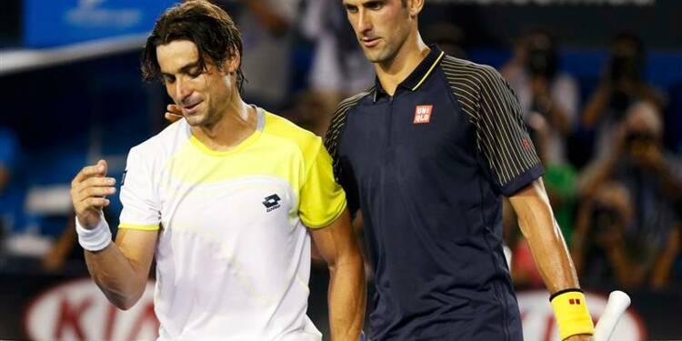 Open d'Australie: Djokovic écrase Ferrer en demi-finale