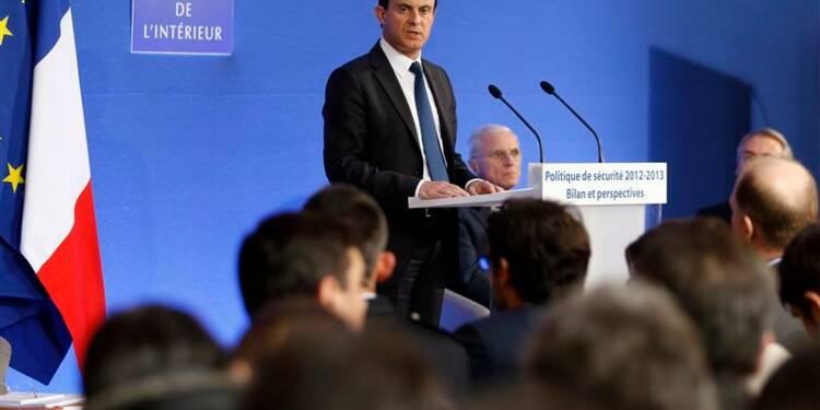 Manuel Valls instaure un nouveau thermomètre de la délinquance
