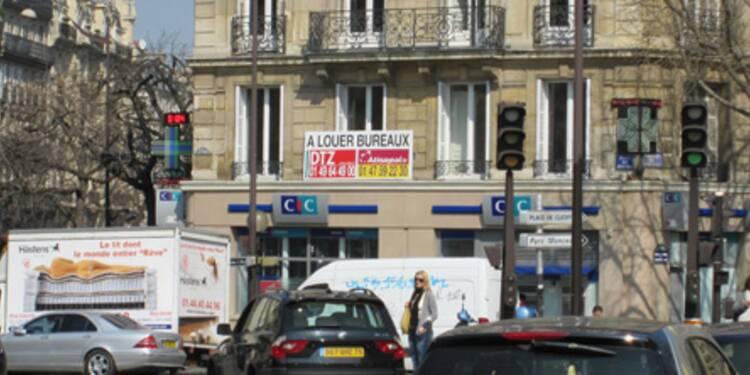 Les locations de bureaux parisiens s'effondrent