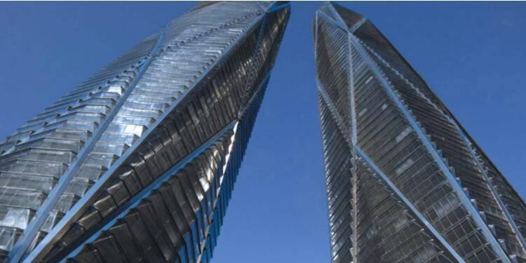 Hermitage Plaza : le projet des sulfureuses tours russes de la Défense avance à grands pas