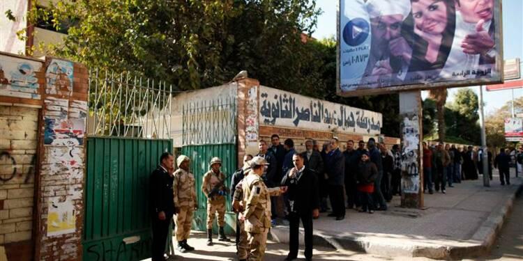 Deuxième jour de référendum en Egypte sur la Constitution