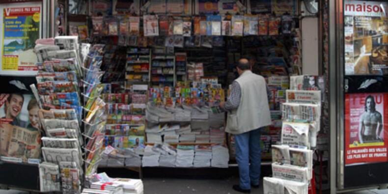 Chute historique du marché publicitaire français