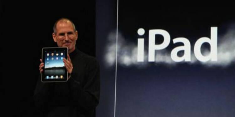 Apple lève le voile sur sa tablette iPad