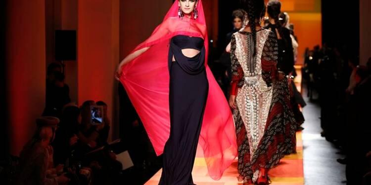 Haute couture: Jean-Paul Gaultier en gypsy, Saab en délicatesse