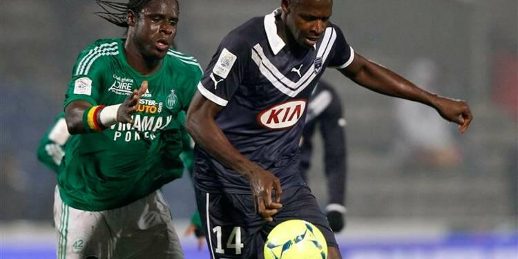 Ligue 1: Saint-Etienne encore muet, Bordeaux atone