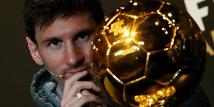 Messi, Ballon d'Or pour la quatrième fois