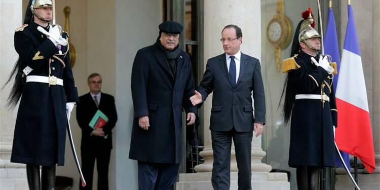 Hollande et Zardari saluent le combat de la jeune Malala