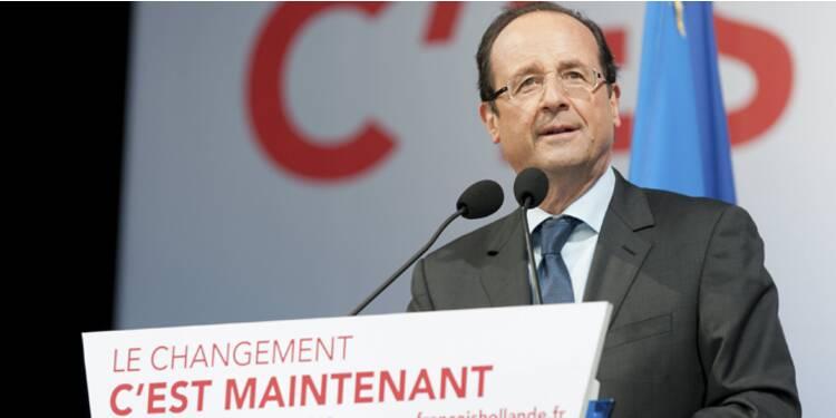 Présidentielle : Hollande, à 28,4 %, devance Sarkozy et Le Pen