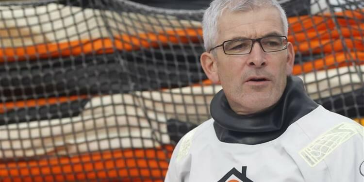 Vendée Globe: Vincent Riou abandonne